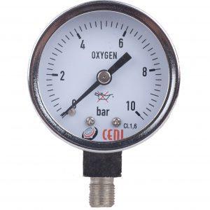 Manómetros Serie 50 - Cromados para oxigenoterapia